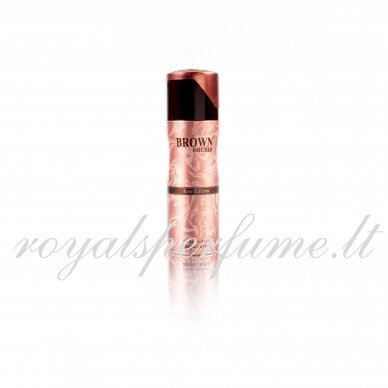 Brown Orchid Rose edition perfumed deodorant for women 200ml