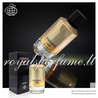 Giorgio Armani Code Absolute Arabic version Harmony Code Absolute perfumed water for men 100ml 2