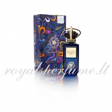 Amouage Interlude Arabic version of  Midnight oud perfumed water for women 100ml
