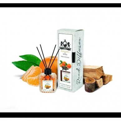 The smell of home Mandarin &Wood 150ml 2