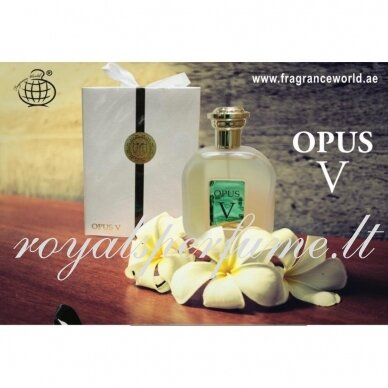 Amouage The Library Collection Opus V арабская версия Opus V 100ml 4